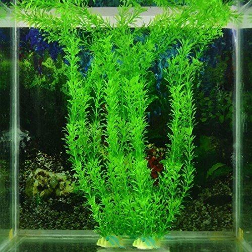 Plantas  X3 Artificiales De 30 Cm Para Acuario