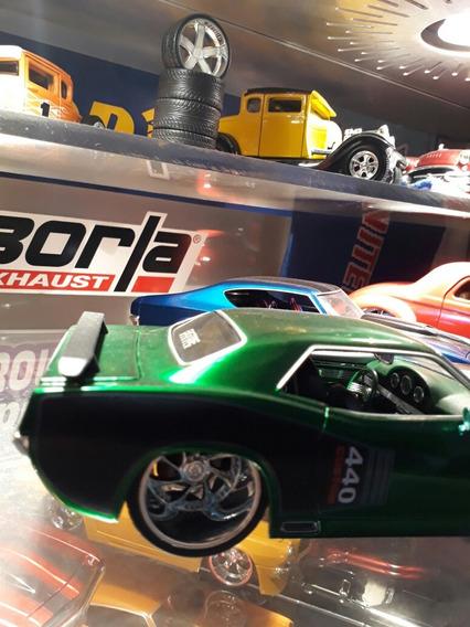 Miniatura Jada 1/24 Barracuda Rarissimo.