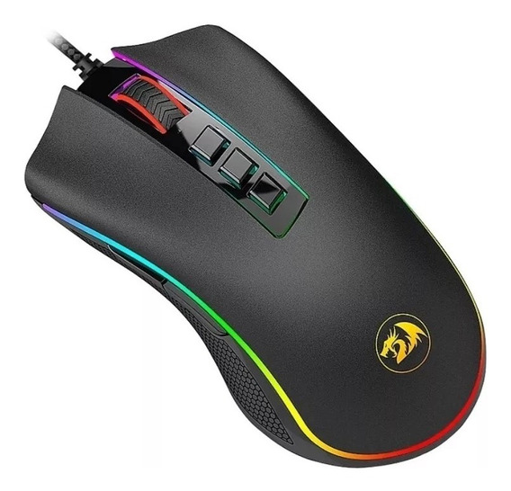 Mouse Gamer Redragon Cobra Chroma 10000dpi Preto M711