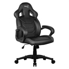 Cadeira Gamer Aerocool Ac60c Air Giratória Preta