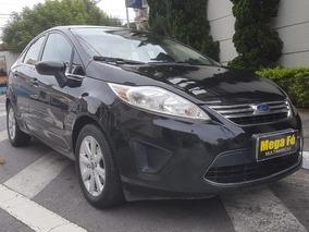 Ford Fiesta Sedan 1.6 Se 16v Flex 4p 2011 Preto Completo