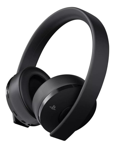 Fone de ouvido gamer Sony PlayStation Gold preto