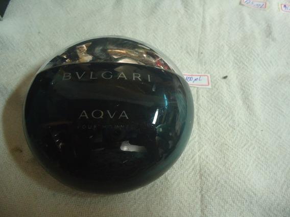 Perfume Vazio Bulgari Aqva Pour Homme 100ml Par Colecionador