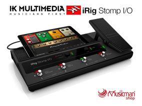 Ik Multimedia Irig Stomp I/o Pedalera Para Guitarra Usb