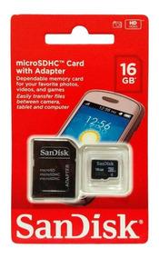 Cartão 16gb Micro Sd Sandisk Original Lacrado - 10 Unidades