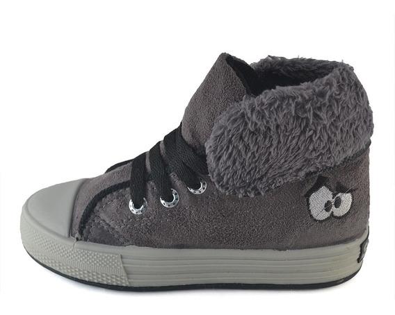 Bota Descarne-corderito Grafito Small Shoes Envío Gratis
