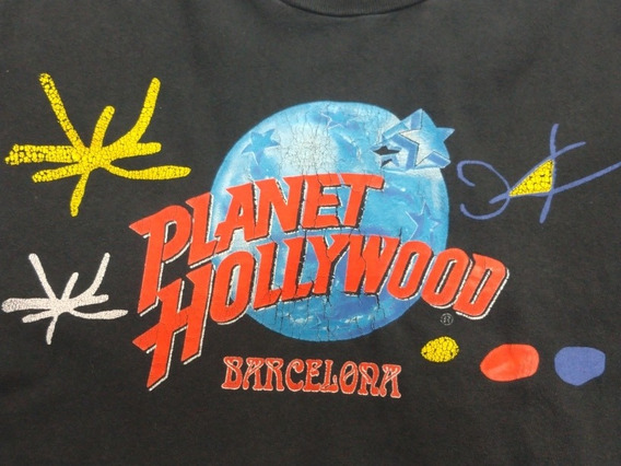 Remera Planet Hollywood Barcelona Talle Xl