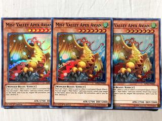 Mist Valley Aphex Avian (tercia) / Set Yugioh!