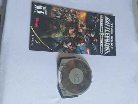 Star Wars Battlefront Umd E Manual Psp Original Campinas