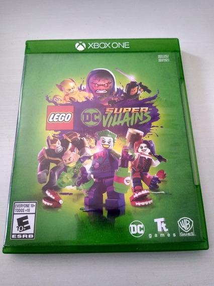 Jogo Dc Super Vilões Xbox One Mídia Física