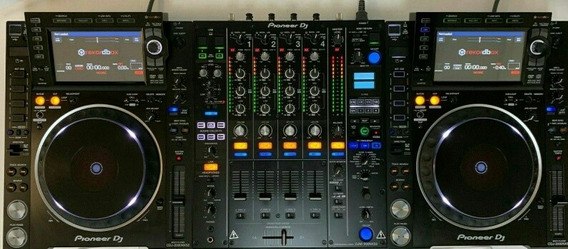 Kit Cdj Nexus 2000 Mais Mixer Djm-900 Nexus Pioneer