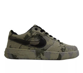 Zapatos Nike Air Force One Camuflados
