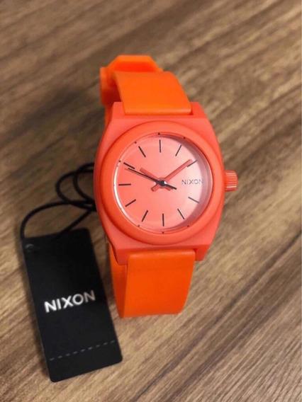 Relógio Nixon A425 383-00 Small Time Teller P - Red Pepper