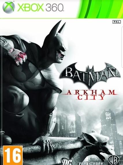 Batman Arkhan City-xbox 360-midia Digital