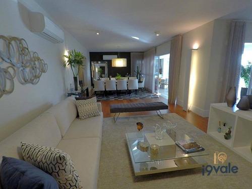 Apartamento A Venda  Condomínio De Luxo, Jardim Aquarius Paessagio À Venda, 278 M² - Jardim Das Colinas - São José Dos Campos/sp - Ap1785
