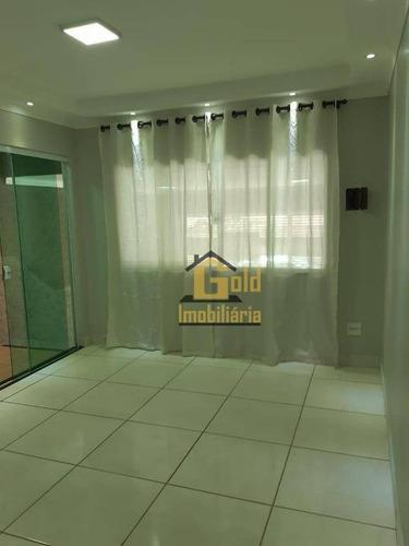 Casa Com 2 Dormitórios À Venda, 117 M² Por R$ 295.000,00 - Jardim Piratininga - Ribeirão Preto/sp - Ca1002