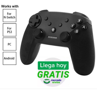 Nintendo Switch Joystick Accesorio Controller Juego Ps3 Pc