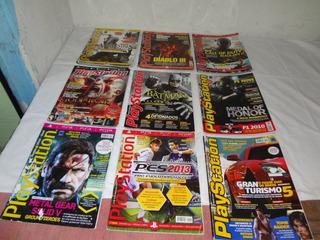 Revistas Playstation Lote Ou Individual L 53 Leia Descrição