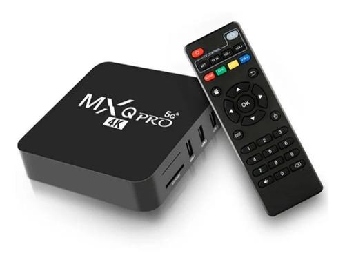 Imagen 1 de 4 de Tv Box Mxq Pro 4k  8gb Ram 128gb Rom Android 10.1