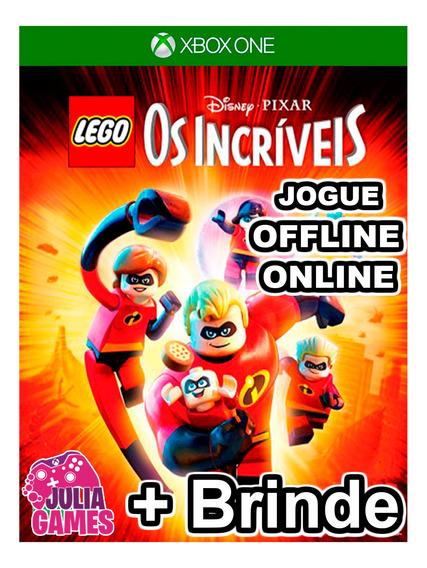 Lego Os Incriveis Xbox One Midia Digital + 1 Brinde