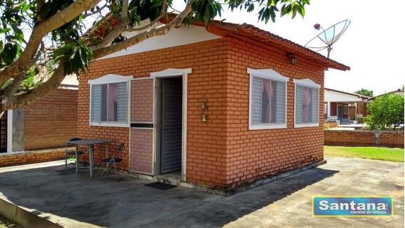 Chale Com 1 Dormitório À Venda, 25 M² De R$ 55.000 Por R$ 49.000- Mansões Águas Quentes - Caldas Novas/go - Ca0010