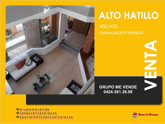Casa Venta Alto Hatillo Remodelada 3 Hab. 5 Baños Terraza