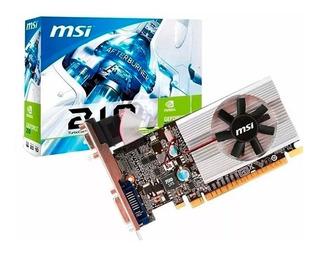 Tarjeta De Video Msi Geforce 210 1gb Ddr3 Hdmi Dvi Nvidia
