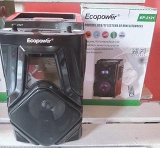 Parlantes Radio Con Bluetooth