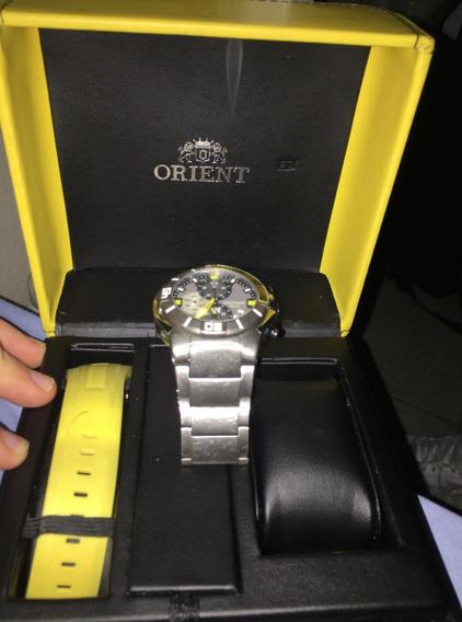 Relógio Usado Orient Titanium Mbttc003 Original