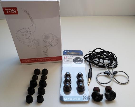 In Ear Trn V80 + Kit Memória - 8 Drives - Original Lacrado