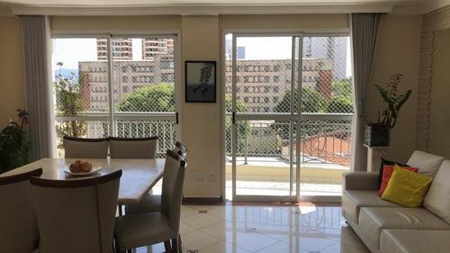 Apartamento Com 4 Dormitórios (2 Suítes), À Venda, 126 M²  - Vila Romana - São Paulo/sp - Ap2237