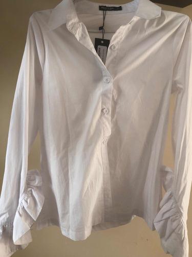 Imagen 1 de 1 de Camisa Blanca Nasty Gal