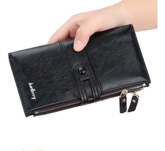 Billetera Para Mujer Elegante Con Monedero - Moderna