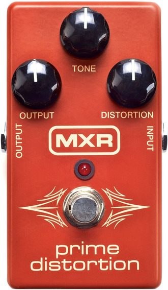 Pedal Distortion Mxr M69 Prime Análogo Envio Imediato
