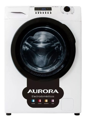 Lavarropas Aurora 8514 Carga Frontal 8 Kg Inverter Lh