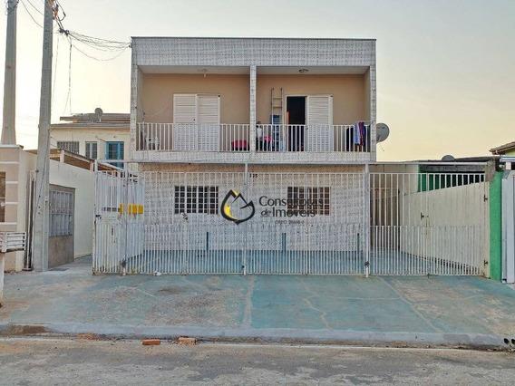 Casa Com 1 Dormitório Para Alugar, 40 M² Por R$ 650,00/mês - São José Ll - Paulínia/sp - Ca1082