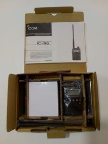 Rádio Receptor Receiver Scanner Icom R-6 O Mais Barato