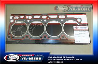 Empacadura Camara Kia Sportage 2.0 Mod. Viejo 95-03