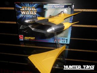 Star Wars, Nave Naboo Fighter, Model Kit, Tel. 35846340
