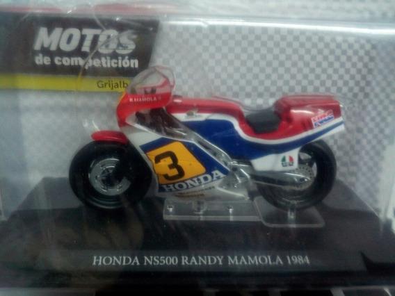 Colección Motos Competición N°24 Honda Ns500 Randy Mamola