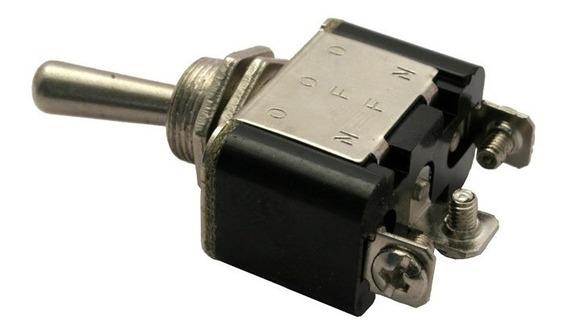 Switch 2 Pasos De Palanca Metalico Reforzado