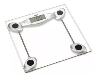 Balança Digital Com Plataforma De Vidro Até 200kg.