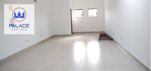 Sala Para Alugar, 42 M² Por R$ 1.400/mês - Vila Rezende - Piracicaba/sp - Sa0120