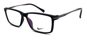 Armação Masculina Óculos De Grau Nike Tr90 / Acetato Fechada