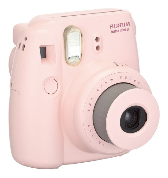 Câmera Instantânea Instax Mini 9 Rosa Chiclete