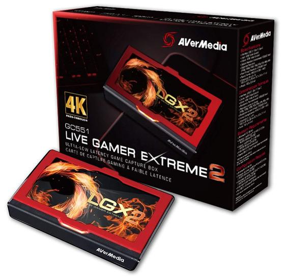 Capturadora Gamer Avermedia Gc551 Live Gamer Extreme 2