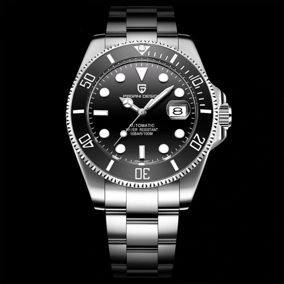 Promoção Dia Dos Pais!! Relógio Automático Pagani Submariner