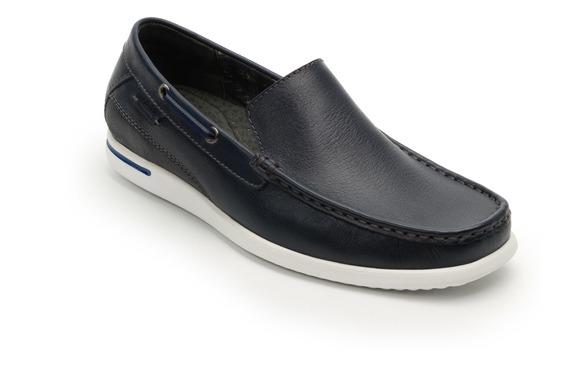 Zapato Mocasín Flexi Caballero 401403 Azul