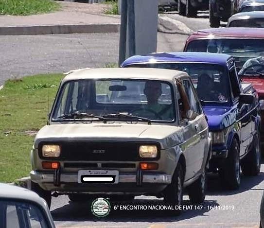 Fiat 147 1977 Monocromático