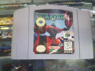 Star Fox 64 Para Nintendo 64 Original Americano
